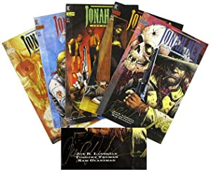 Jonah Hex: Two-Gun Mojo [Complete Series, Signed]: LANSDALE, Joe R.