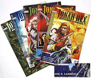 Jonah Hex: Riders of the Worm and: LANSDALE, Joe R.