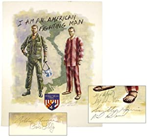 I Am an American Fighting Man [Signed by the Artist and 4 POWs]: ASHURST, Jay