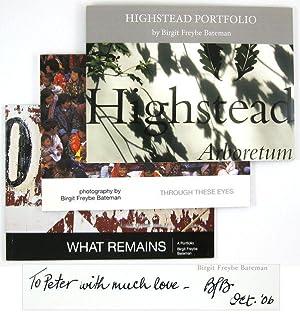 Through These Eyes; What Remains; Highstead Portfolio: BATEMAN, Birgit Freybe