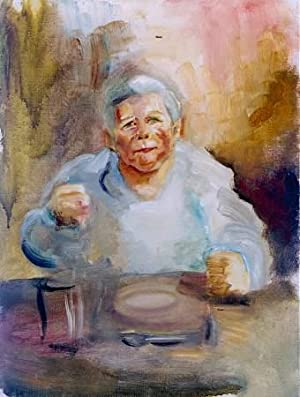 The Artist's Mother At Table