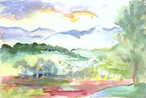 Mt.Chocorua From A Distance: CUMMINGS, E.E.
