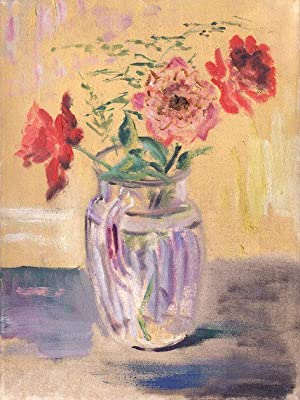 Flowers In Glass Pitcher