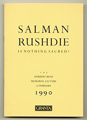 Is Nothing Sacred?: RUSHDIE, Salman