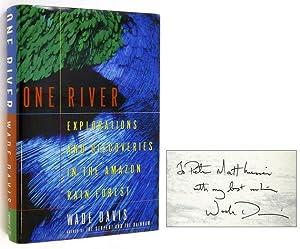 One River [Inscribed to Peter Matthiessen]: DAVIS, Wade