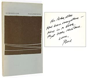 On the Edge & Over [Inscribed to Peter Matthiessen]: LEVINE, Philip