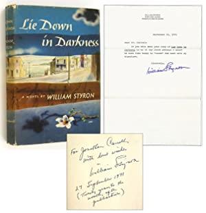 Lie Down in Darkness [Inscribed Association Copy w/ TNS]: STYRON, William