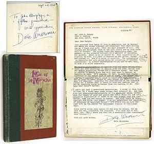 Man of La Mancha. A Musical Play: WASSERMAN, Dale