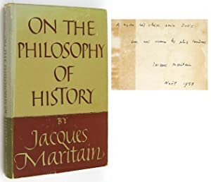 On the Philosophy of History: MARITAIN, Jacques