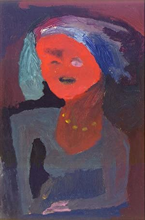 Abstracted Figure: Red Face