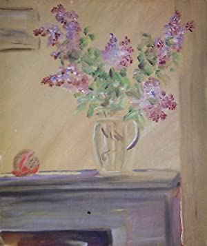 Still Life With Lilacs And Pomander Ball
