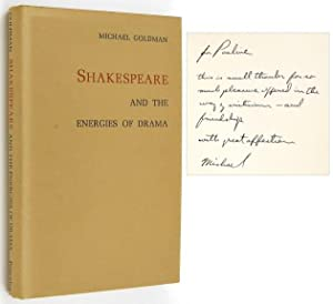 Shakespeare and the Energies of Drama