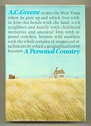 A Personal Country: GREENE, A.C.