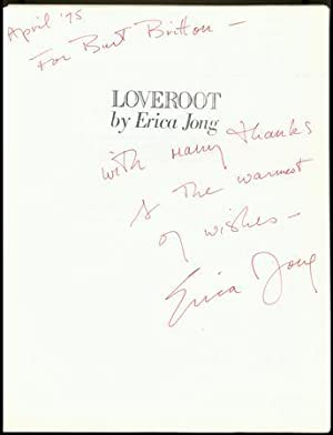 Loveroot [Inscribed, w/ Autograph Note Signed]