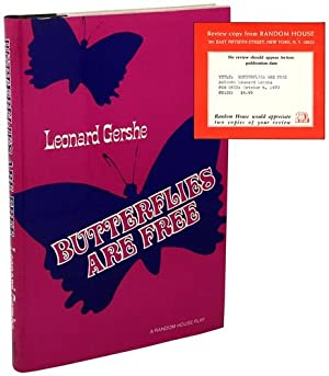 Butterflies Are Free [Review Copy]: GERSHE, Leonard