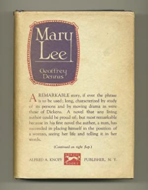 Mary Lee [Review Copy]: DENNIS, Geoffrey