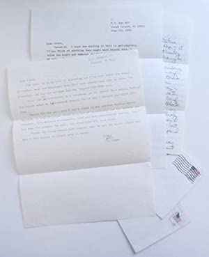 Typed Letters Signed
