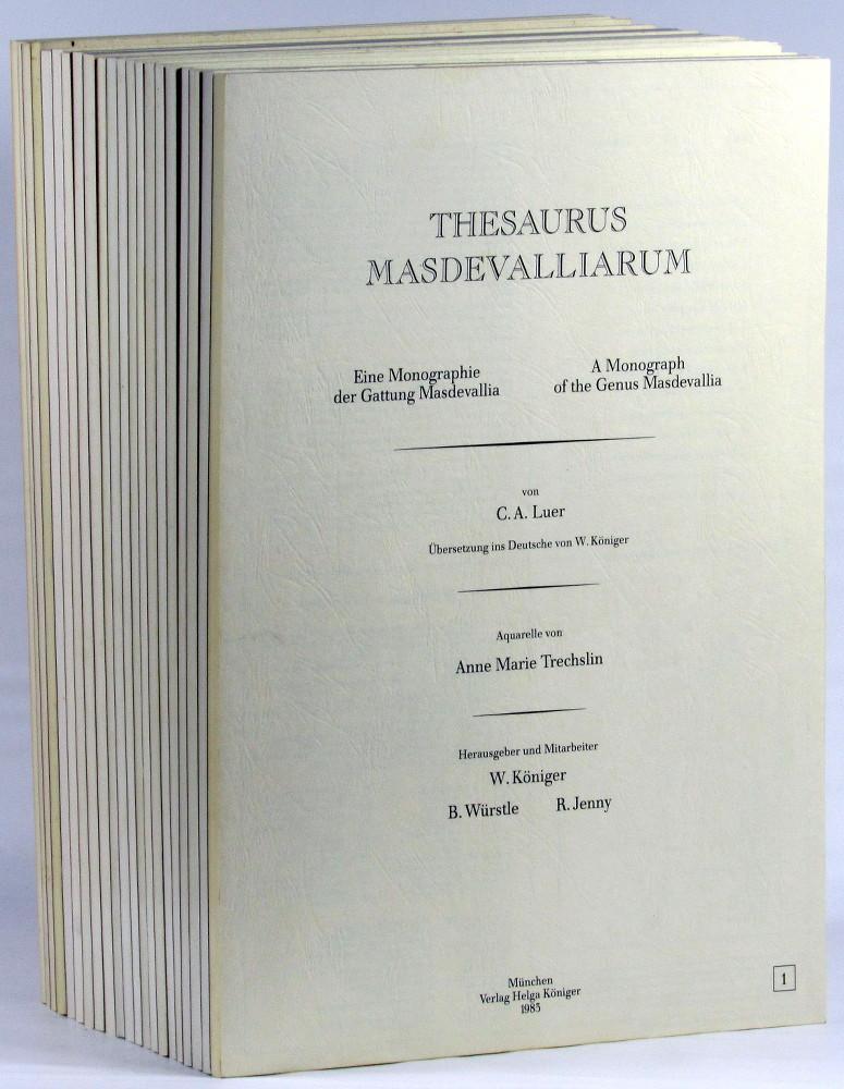 Thesaurus Masdevalliarum: Eine Monographie der Gattug Masdevallia/ A Monograph of the Genus ...