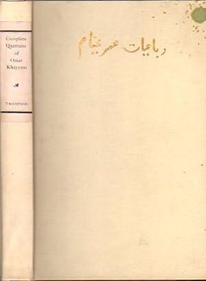 The Quatrains of Omar Khayyam of Nishapur: Thompson, Eben Francis