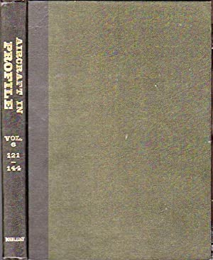 Aircraft in Profile Volume Six, Part Numbers 121-144: Windrow, Martin C.