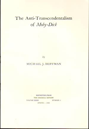 The Anti Transcendentalism of Moby Dick