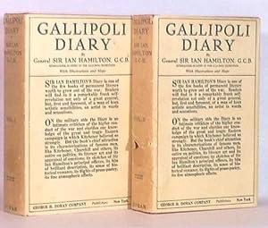 Gallipoli Diary ( Two Volumes): Hamilton, Ian