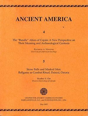 "Ancient America 4 & 5: The ""Bundle"": Elizabeth A Newsome;"