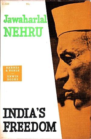 India's Freedom: Nehru, Jawaharlal