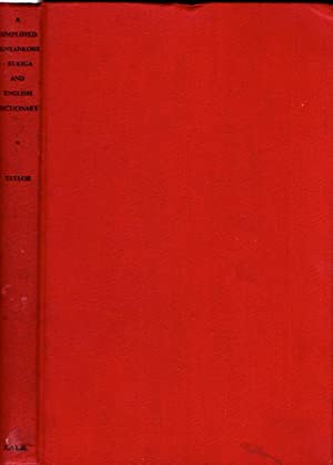 A Simplified Runyankore-Rukiga-English and English-Runyakore-Rukiga Dictionary in: Taylor, C.