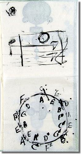 Original Drawing in Marker: MacLise, Angus