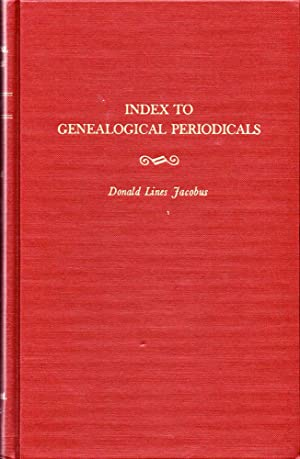 Index to Genealogical Periodicals Together With