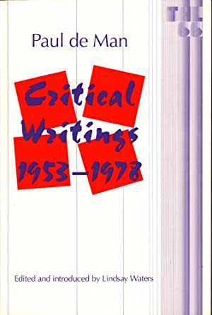 Critical Writings 1953-1978