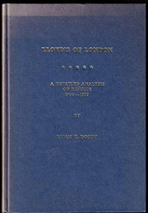 Lloyd's of London: A Detailed Analysis of Results 1950-1977: Doody, Brian K.