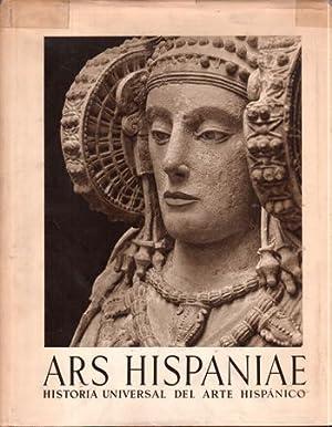 Ars Hispaniae: Historia Universal Del Aret Hispanico Volumen Primero Arte Prehistorico: Almagro, ...