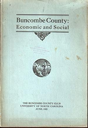 Buncombe County: Economic and Social: Moser, A.M.