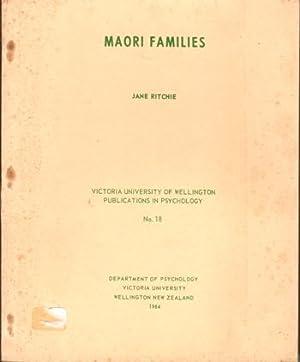 Maori Families: Ritchie, Jane