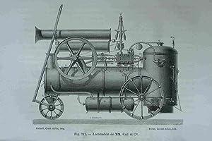 Locomobile De MM. Cail et Cie. Original
