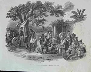 Domestic Punishments of Slaves, on a Brazilian