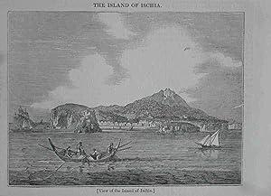 View of the Island of Ischia. Original