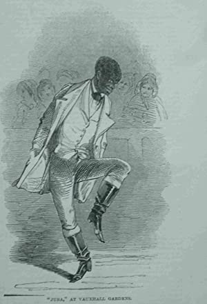 "Juba,"" at Vauxhall Gardens.Nigger Dance. 1848. Original"
