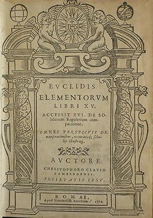 Euclidis Elementorum Libri XV. Accessit XVI de: Clavius, Christophorus; Euclid