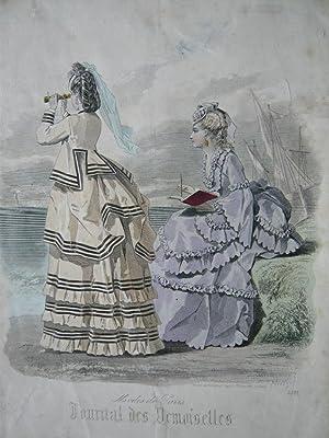 Modes De Paris. Journal Des Demoiselles