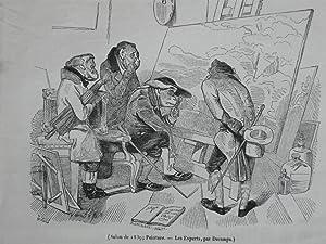 Salon De 1839. Les Experts, Par Decamps