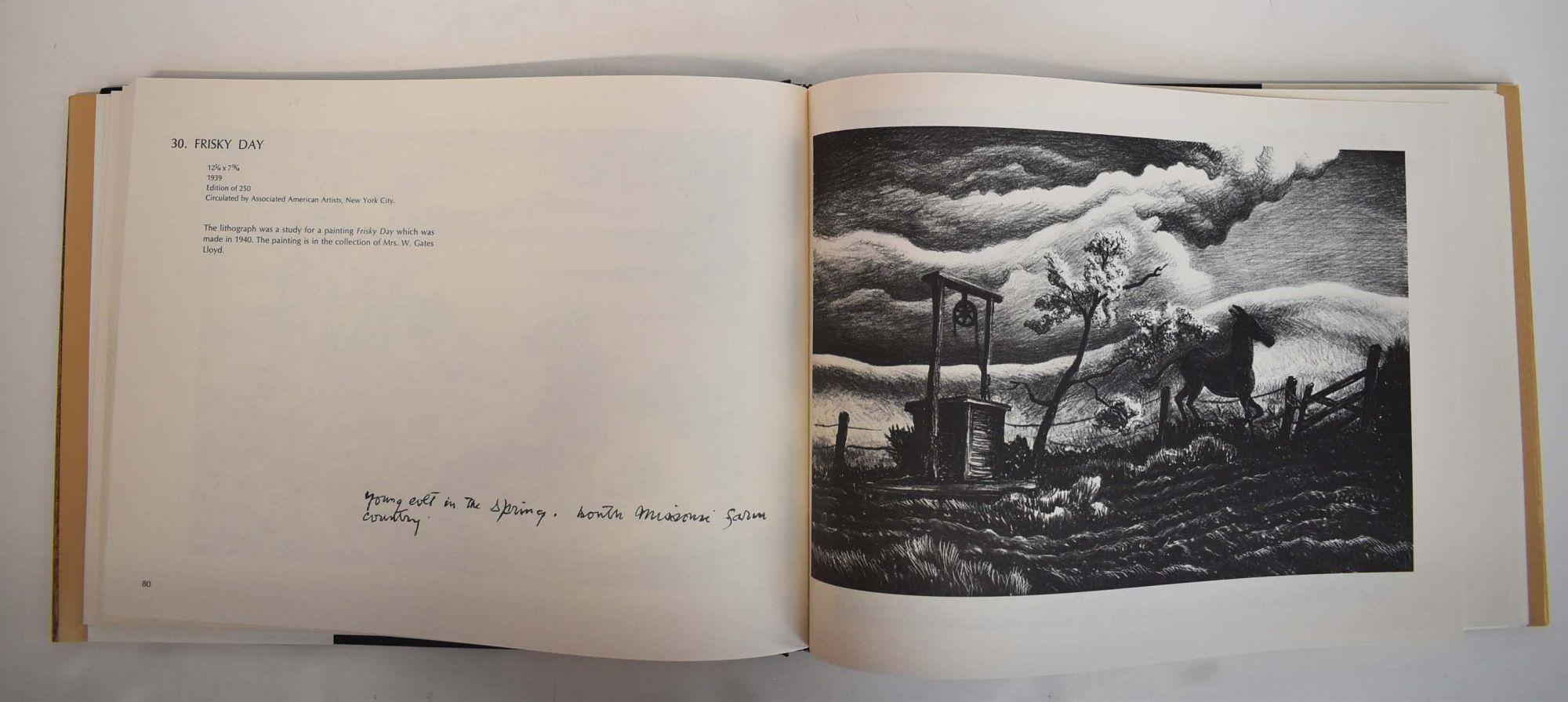 the lithographs of thomas hart benton catalogue raisonne