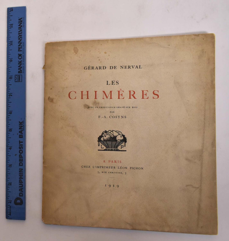 Les Chimeres De Nerval, Gerard [ ] [Softcover] (bi_30575771711) photo