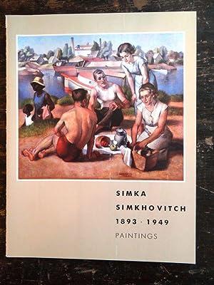 Simka Simkhovitch, 1893-1949: Paintings: Marqusee (Janet) Fine