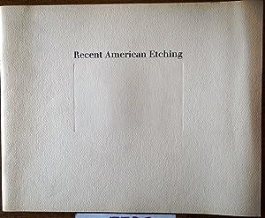 Recent American Etching: Field, Richard S.