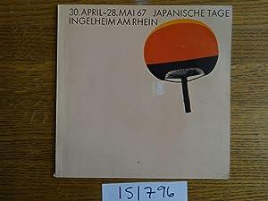 Japanische Tage Ingelheim am Rhein, 30. April: Lachenal, Francois