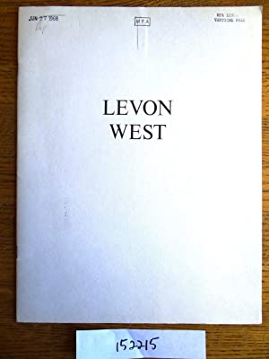 Levon West: MacNeil, Neil and
