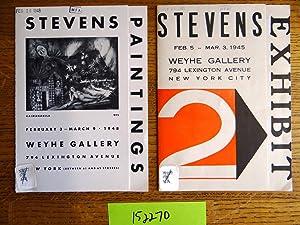 Edward John Stevens Jr.: 2 Weyhe Gallery: Weyhe Gallery
